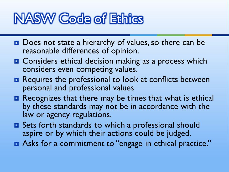 Reflective Practice needs to be infused in the process; part and parcel of each step in ethical decision making.