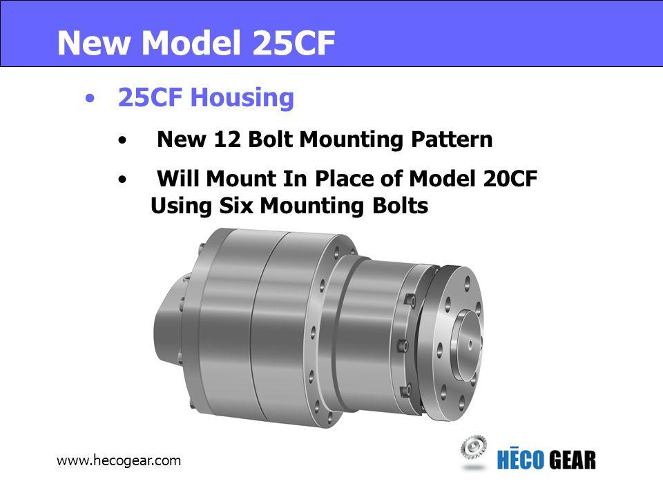 www.hecogear.com New HECO GEAR Model 25 50% more Capacity