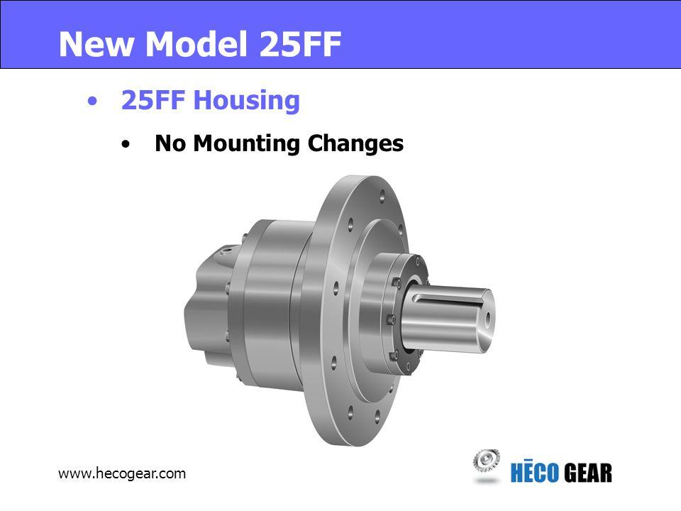 www.hecogear.com New Model 25AF 25AF Housing New Mounting Option In Prototype