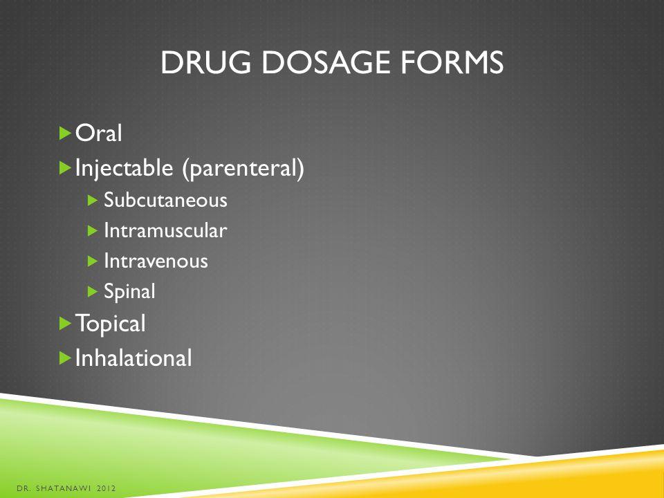 GRADUATE DOSE-RESPONSE CURVE DR. SHATANAWI 2012