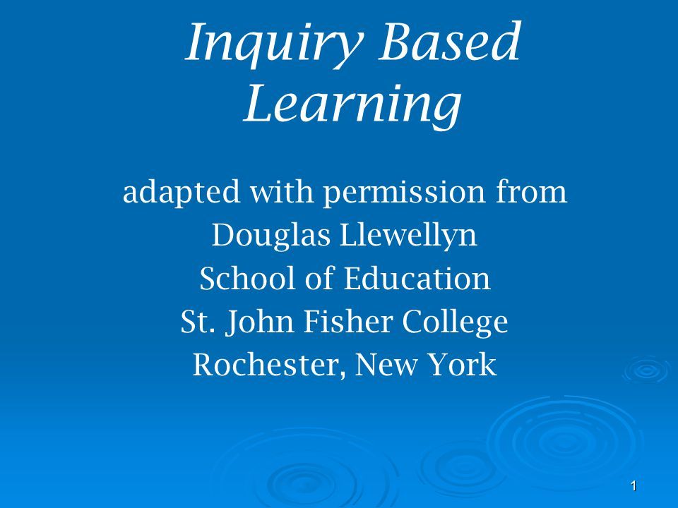 12 10 Reasons Teachers Say They Cant Do Inquiry #9 When you teach through inquiry, you lose control.