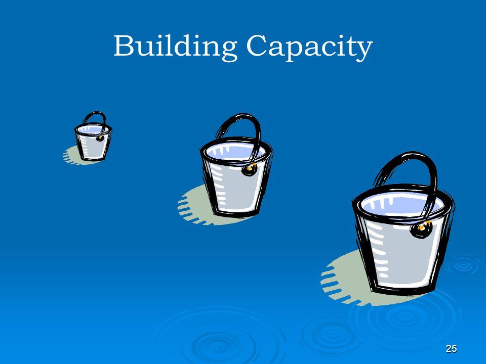25 Building Capacity