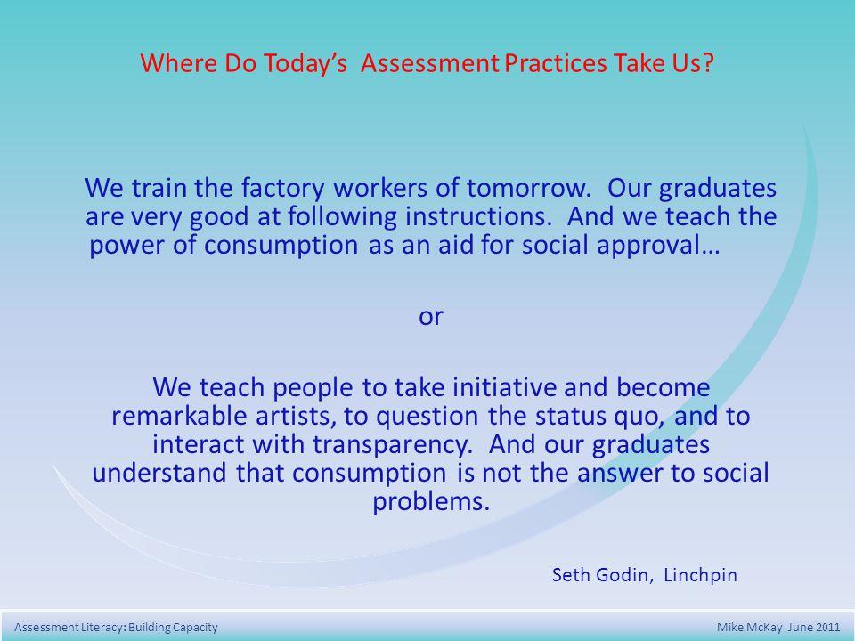 Assessment for Achievement 1.Provides descriptive feedback.