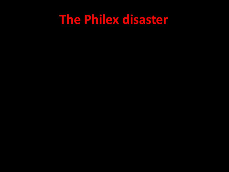 The Philex disaster The foreseen long-term damage is irreversible,