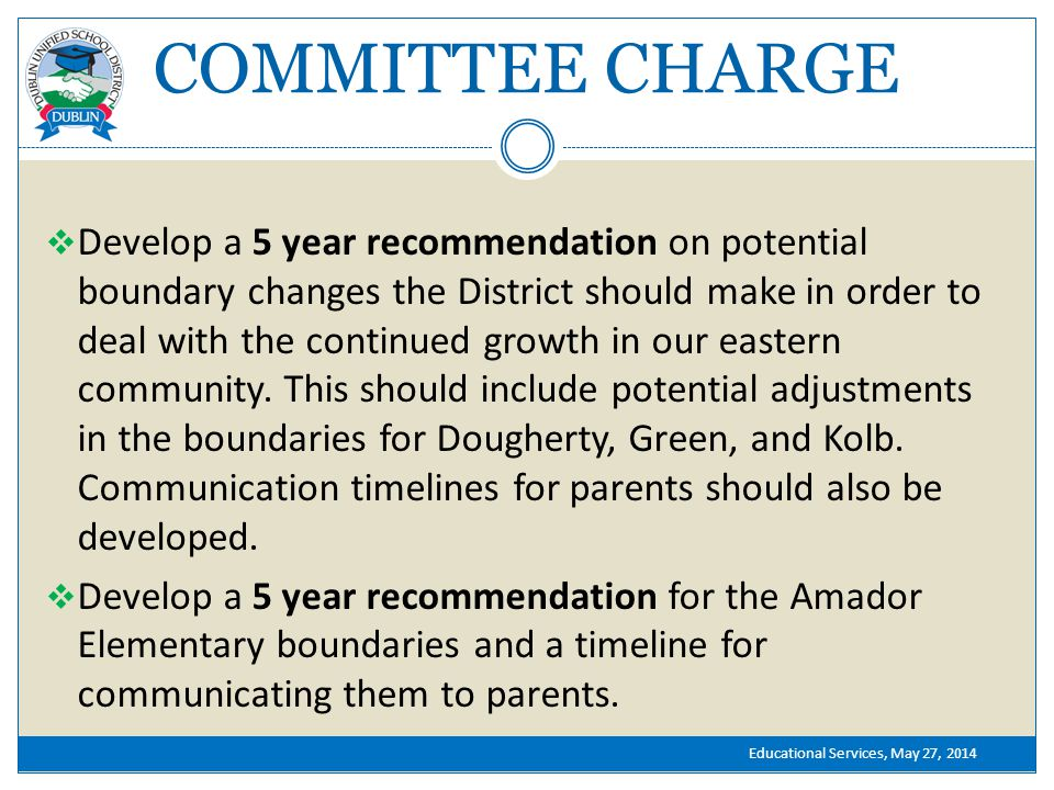 The Board adopted capacity for elementary schools of 650 +/- 100 * Recently developed Facilities Program Standards (DRAFT) should be utilized Including Developmental Kindergarten Special Education Physical Education space Music / Art space Technology space Library Capacity Etc.