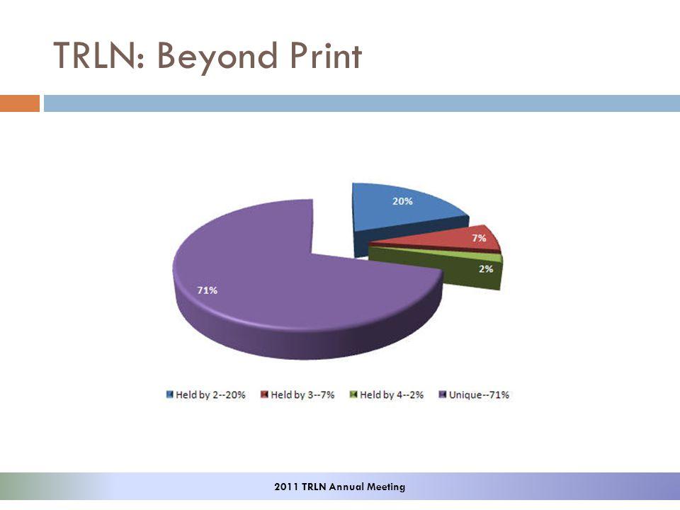 TRLN: Beyond Print