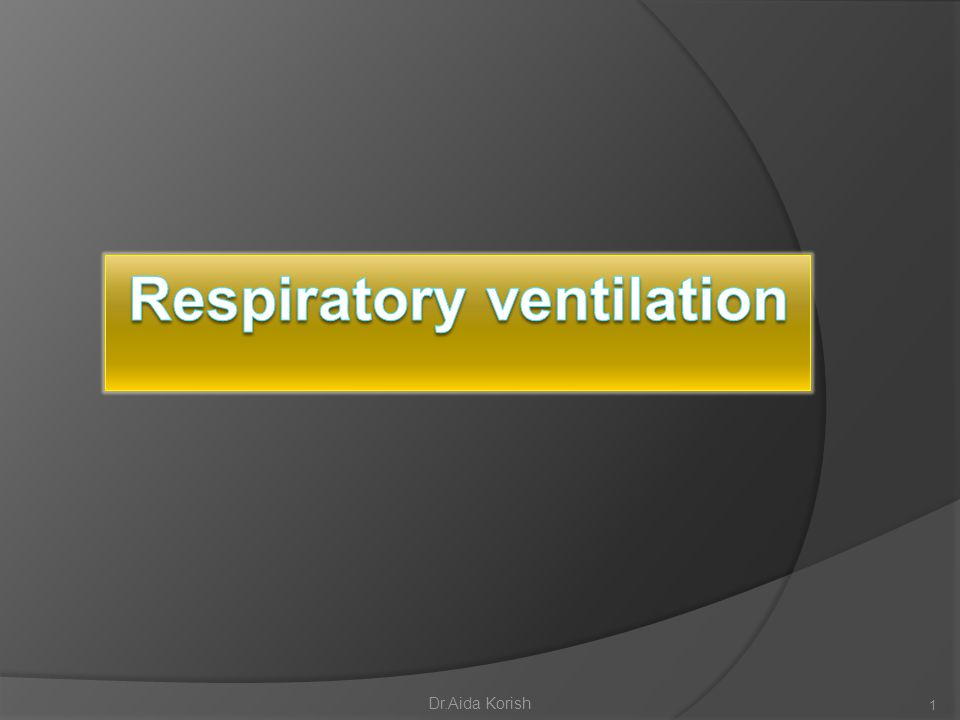 Alveolar air does not have the same concentration of gases as does inspired air.