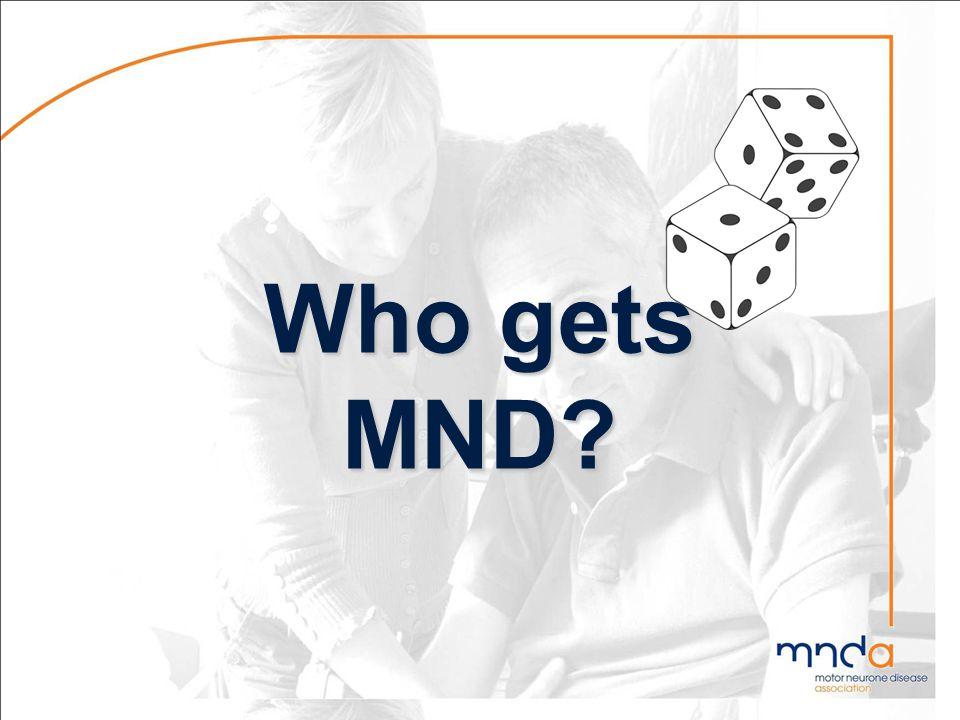 Who gets MND?