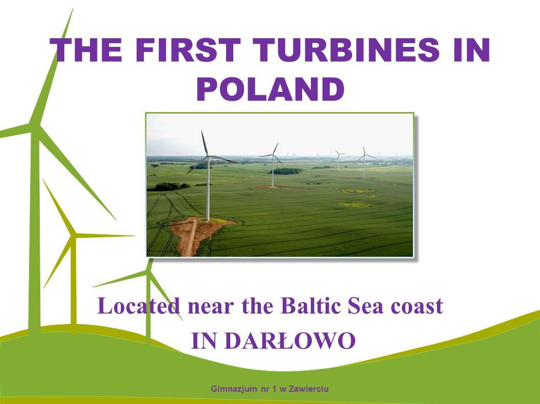 THE HIGEST OFFSHORE WIND TURBINES Located in Łęki Dukielskie.