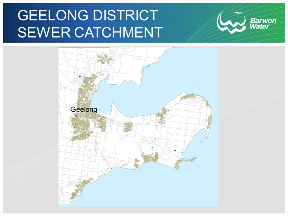 GEELONG DISTRICT SEWER CATCHMENT Geelong