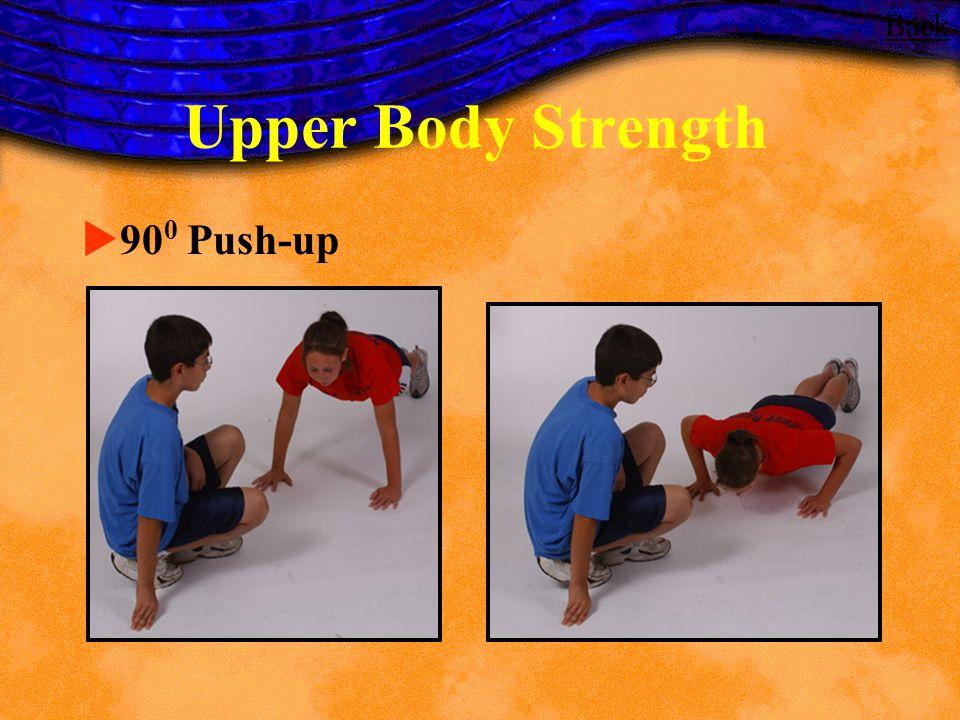 Upper Body Strength 90 0 Push-up Back
