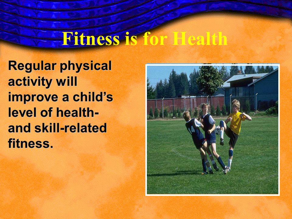 u Aerobic Capacity u Body composition u Muscular strength u Muscular endurance u Flexibility Health-Related Physical Fitness