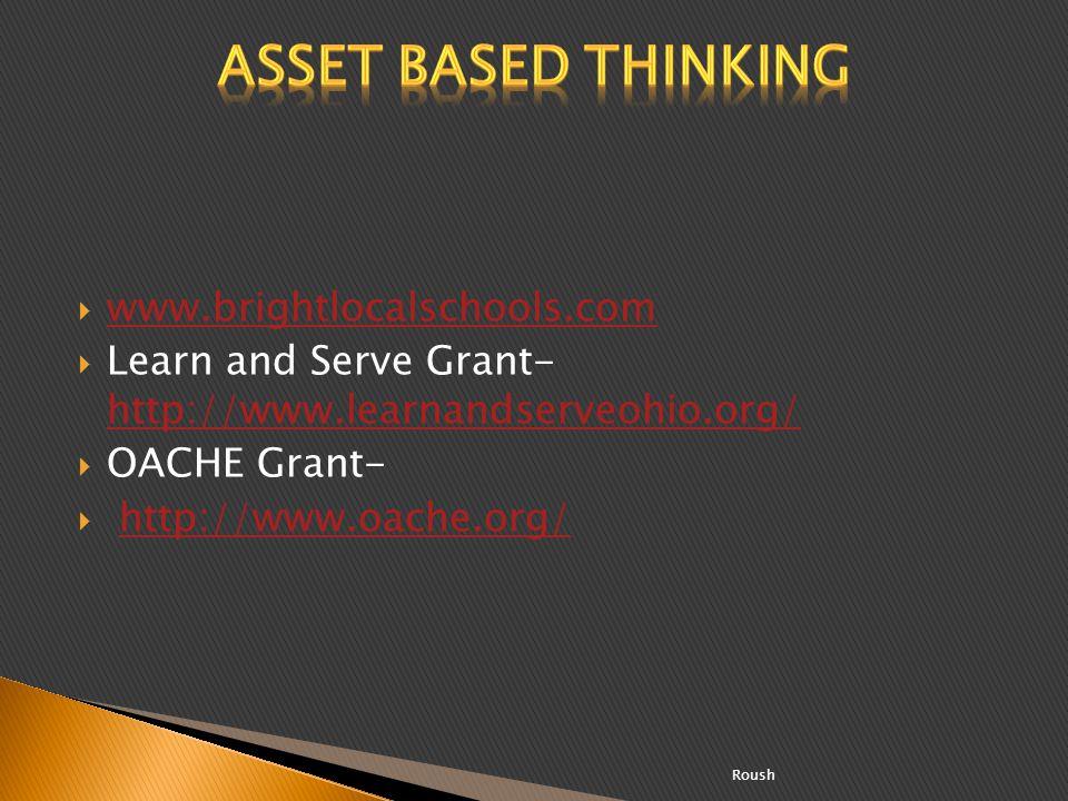 www.brightlocalschools.com Learn and Serve Grant- http://www.learnandserveohio.org/ http://www.learnandserveohio.org/ OACHE Grant- http://www.oache.or