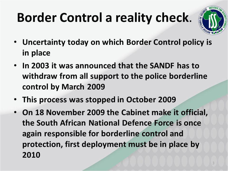 3 Border Control a reality check.