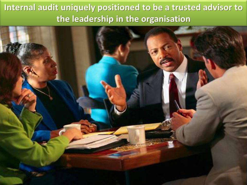 Combined Assurance Internal Audit coordinates