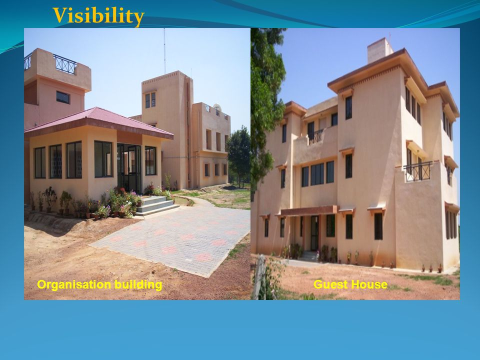 Visibility Organisation building Guest House