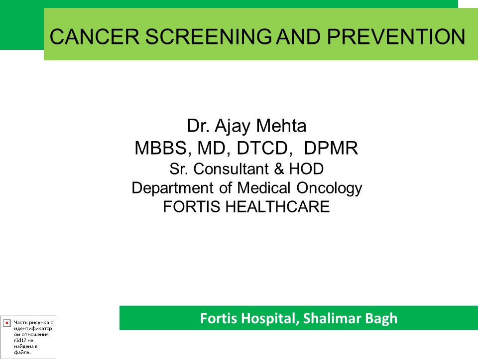 CANCER SCREENING Screening is the process whereby Asymptomatic Individuals are Tested to Detect a disease that is YET to be Symptomatic.