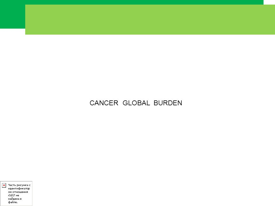 By 2015, 66 % of all cancers will be in the developing world !