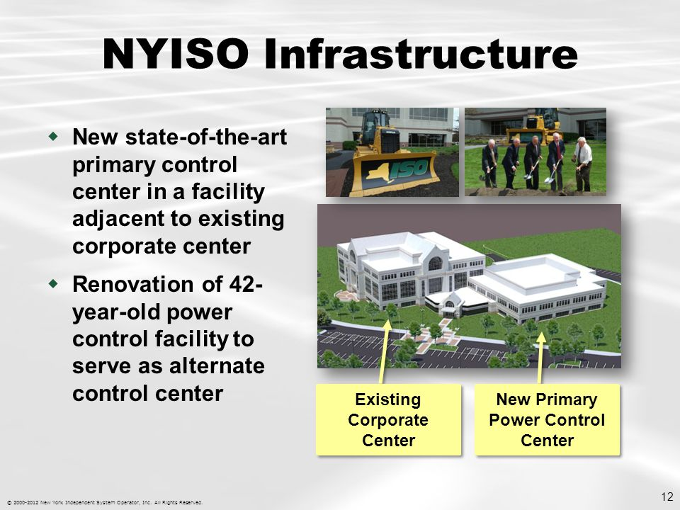 © 2000-2012 New York Independent System Operator, Inc.