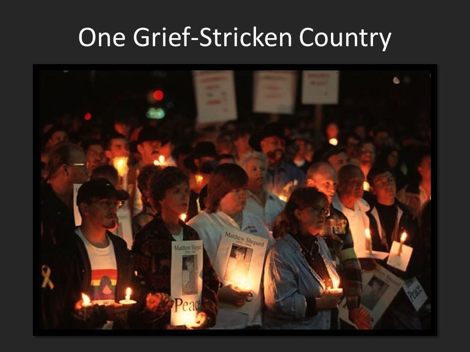 One Grief-Stricken Country