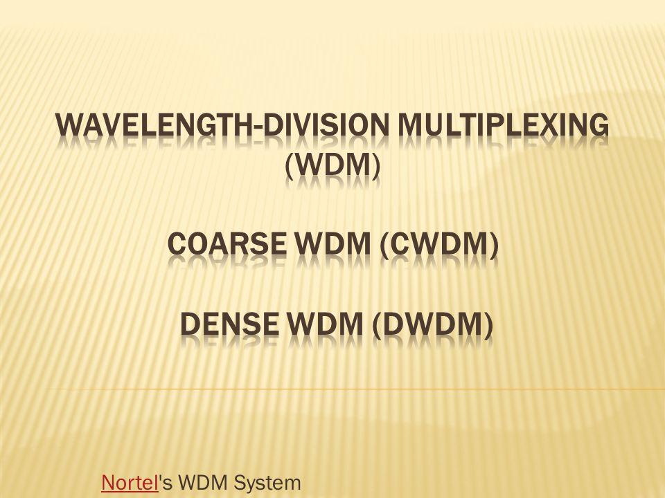 NortelNortel's WDM System