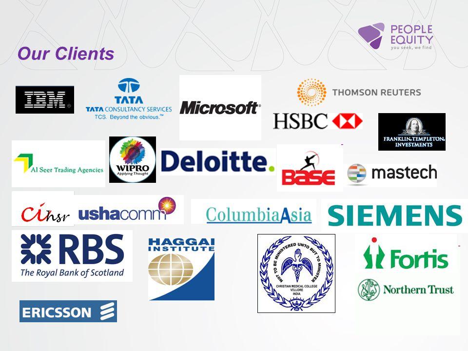 Commissioned compensation survey HR Process Design Theatre based corporate workshops Turnkey Hiring Panel capacity Building Organisational value sensi