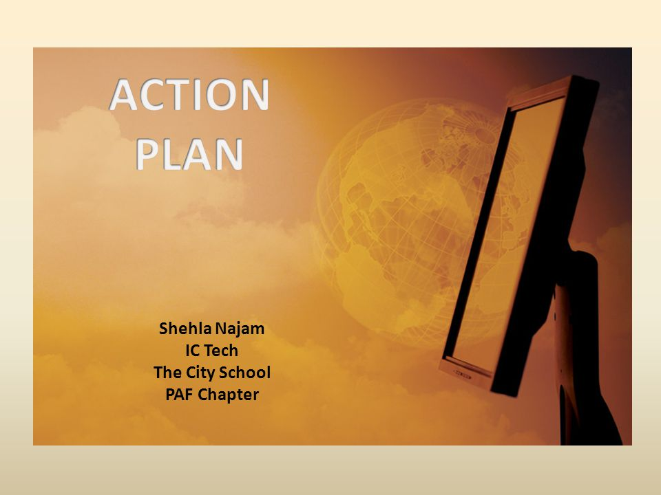 Shehla Najam IC Tech The City School PAF Chapter
