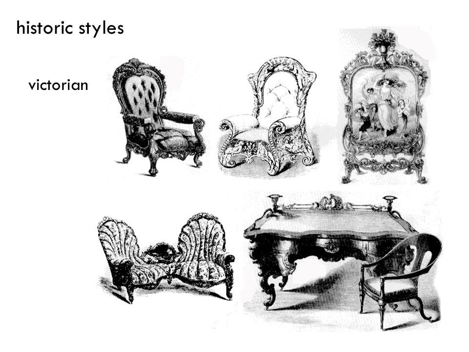 victorian historic styles