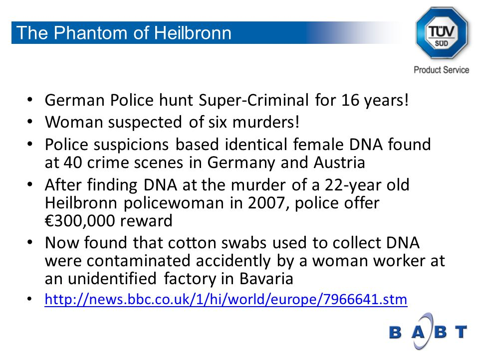 German Police hunt Super-Criminal for 16 years. Woman suspected of six murders.
