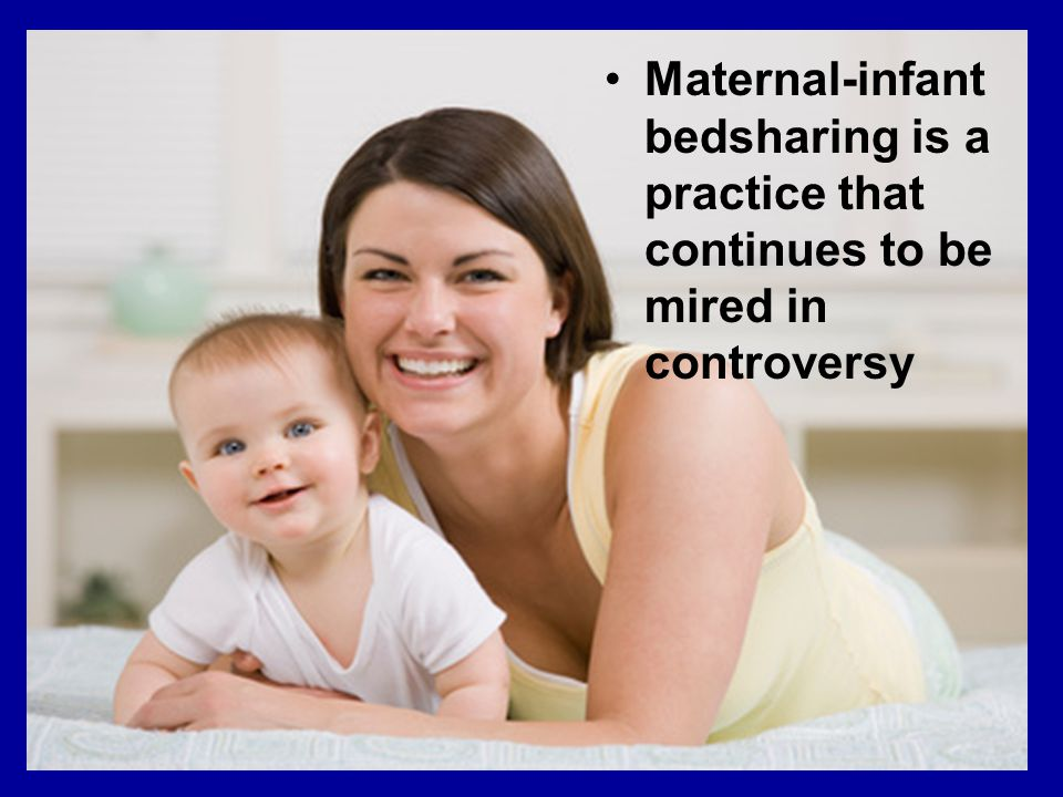 Maternal-infant bedsharing is a practice that continues to be mired in controversy