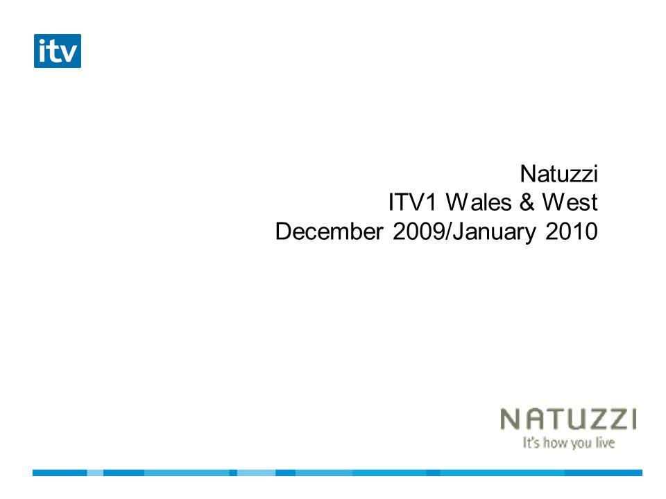 Natuzzi ITV1 Wales & West December 2009/January 2010