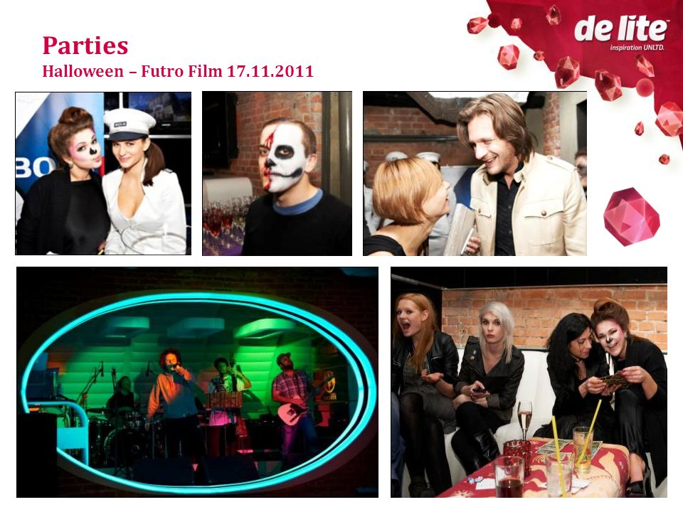 Parties Halloween – Futro Film 17.11.2011