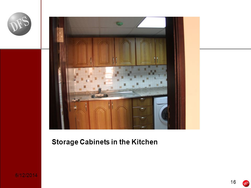 16 - 16 - Storage Cabinets in the Kitchen 6/12/2014