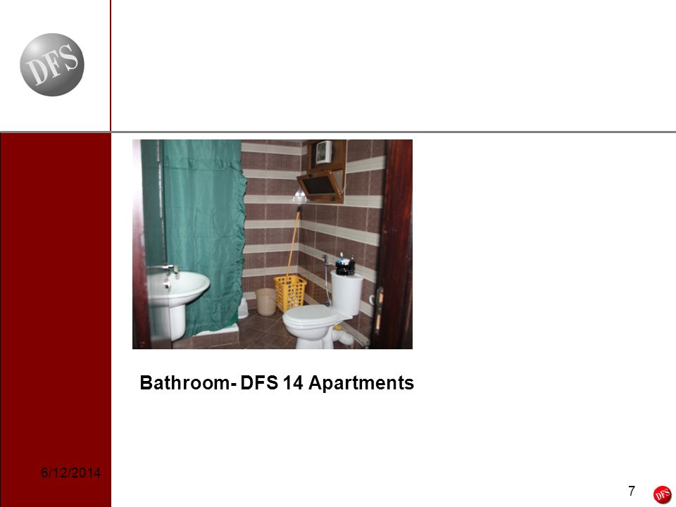 7 - 7 - Bathroom- DFS 14 Apartments 6/12/2014