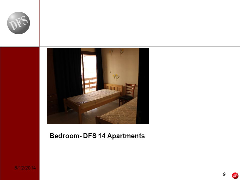 9 - 9 - Bedroom- DFS 14 Apartments 6/12/2014