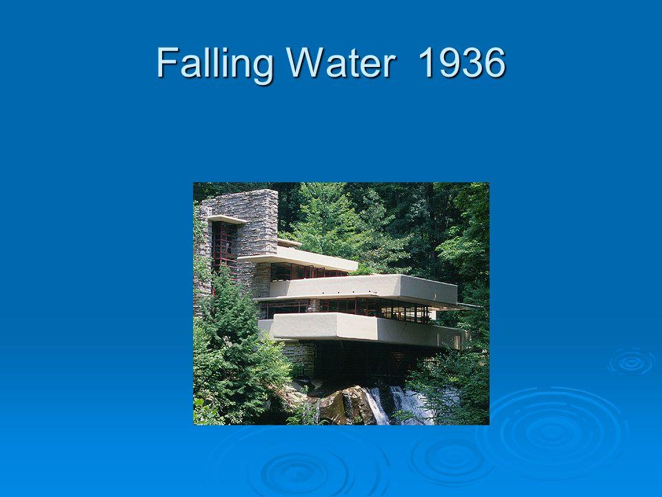 Falling Water 1936