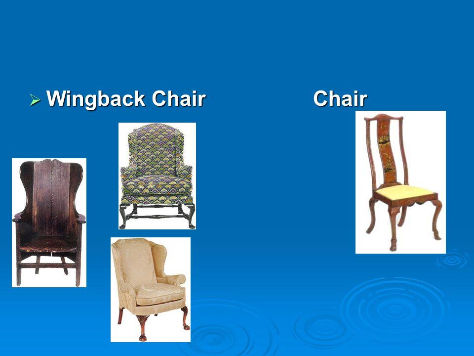 Wingback ChairChair Wingback ChairChair