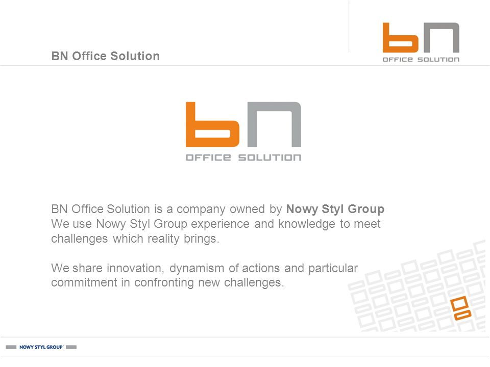 GOOGLE, Cracow BN Office Solution: projects The purpose of placing pictures in this section is exclusively to show the products manufactured by BN OFFICE SOLUTION.