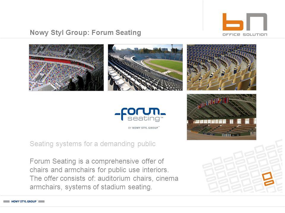 Forum Seating is a comprehensive offer of chairs and armchairs for public use interiors.