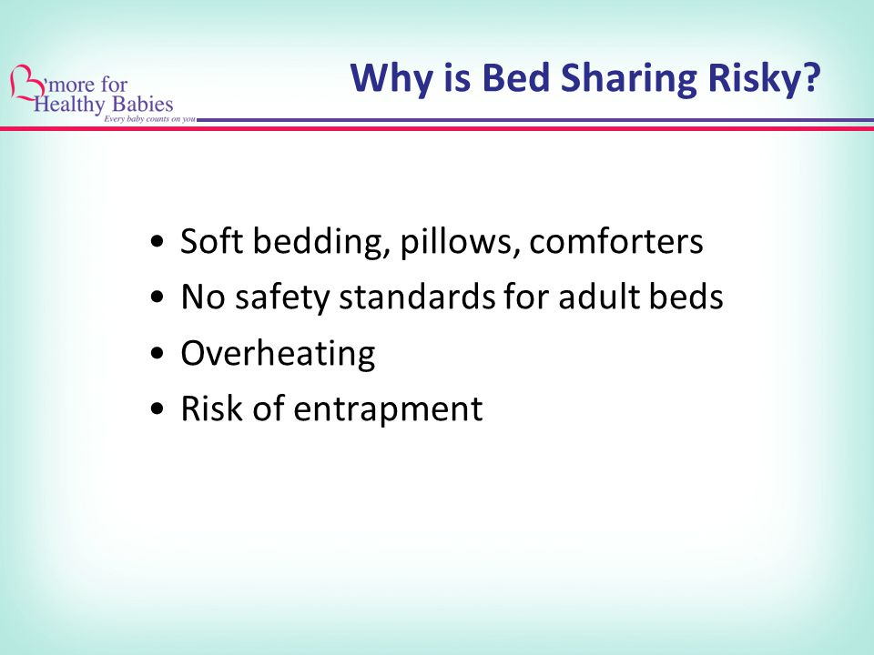 Why is Bed Sharing Risky.
