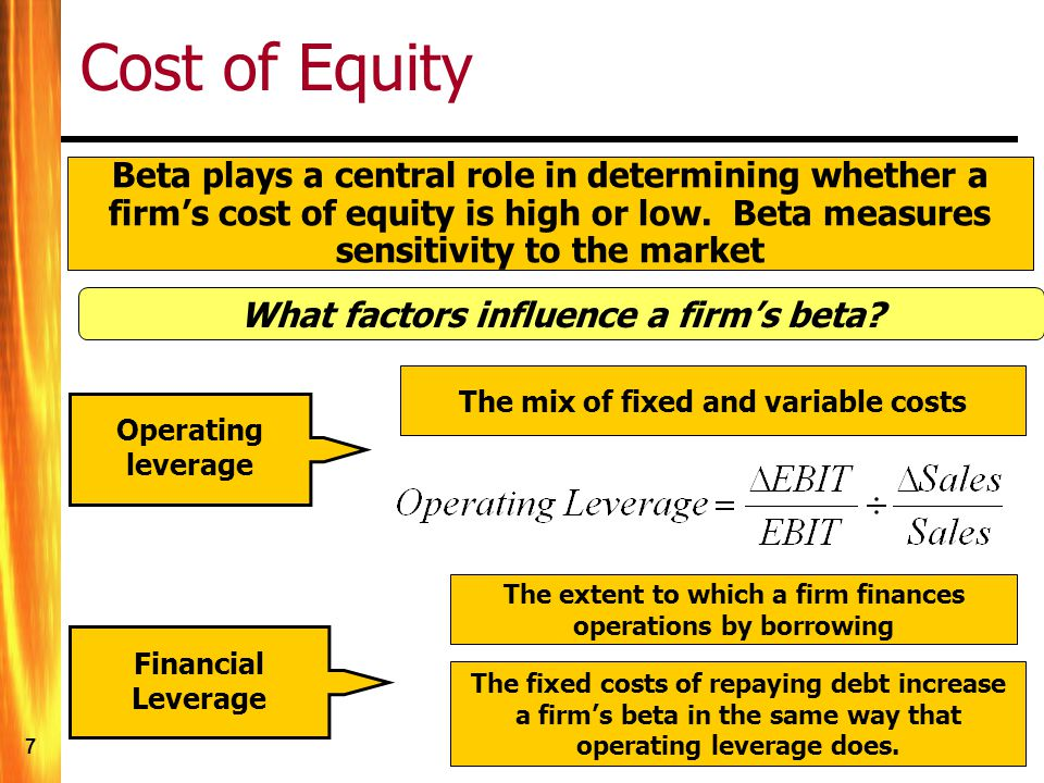 18 Cost of Debt (market price) From Chapter 6, we learned to compute the YTM of a bond.