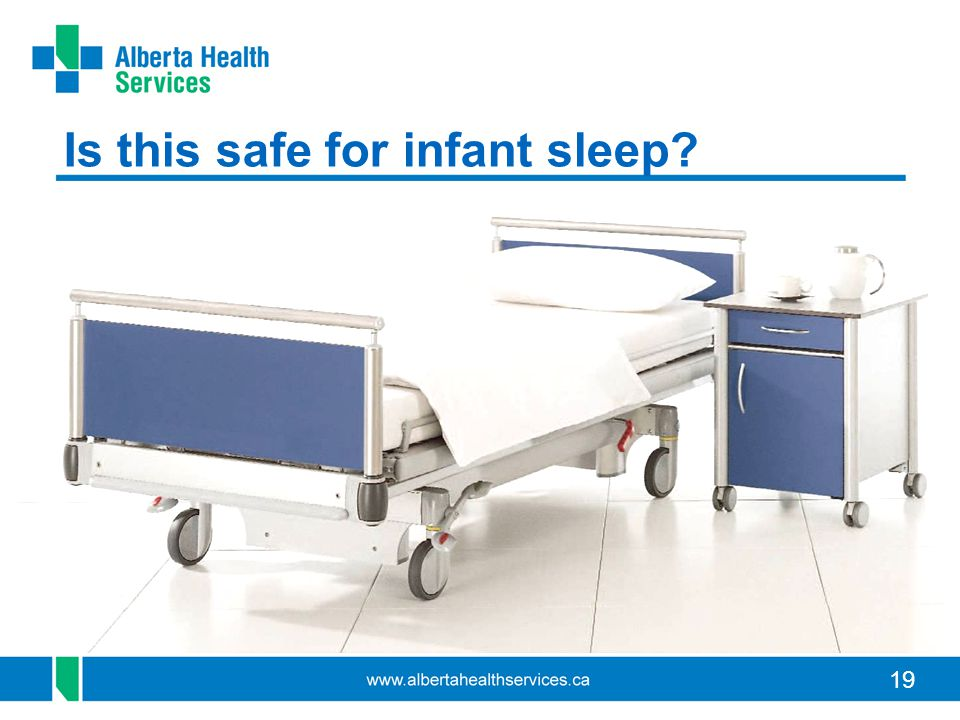 19 Is this safe for infant sleep?