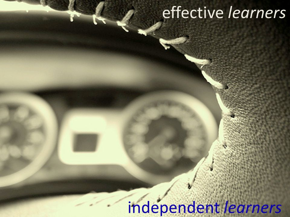 effective learners independent learners