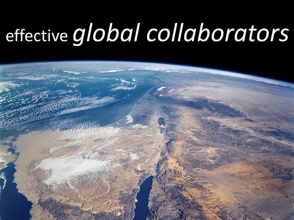 effective global collaborators