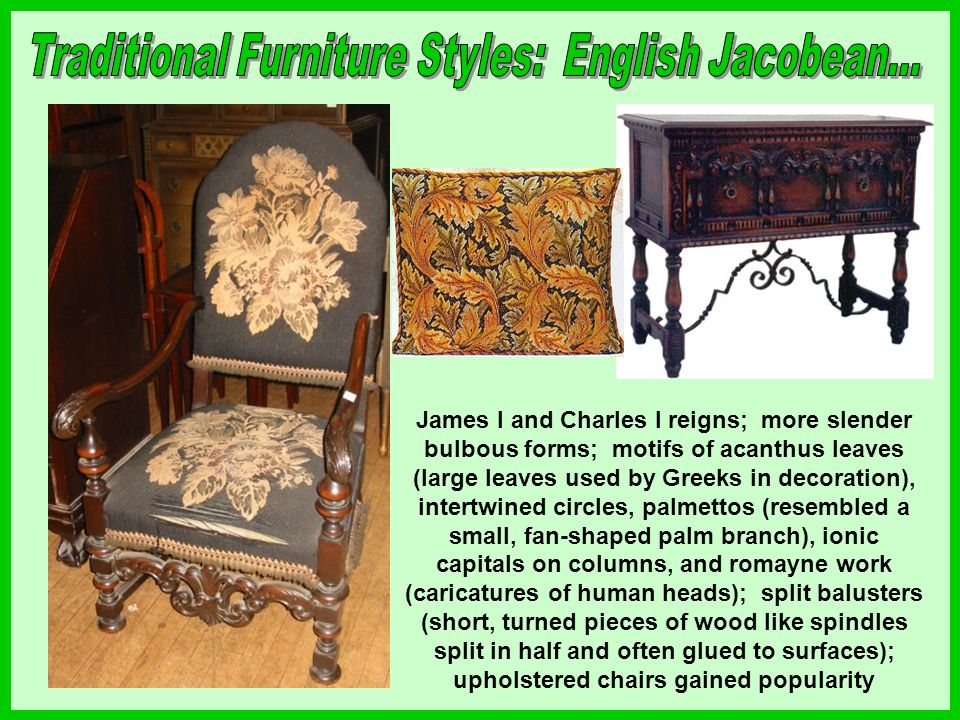 Civil War halted all furniture production; any pieces made were much plainer than before and relatively undecorated