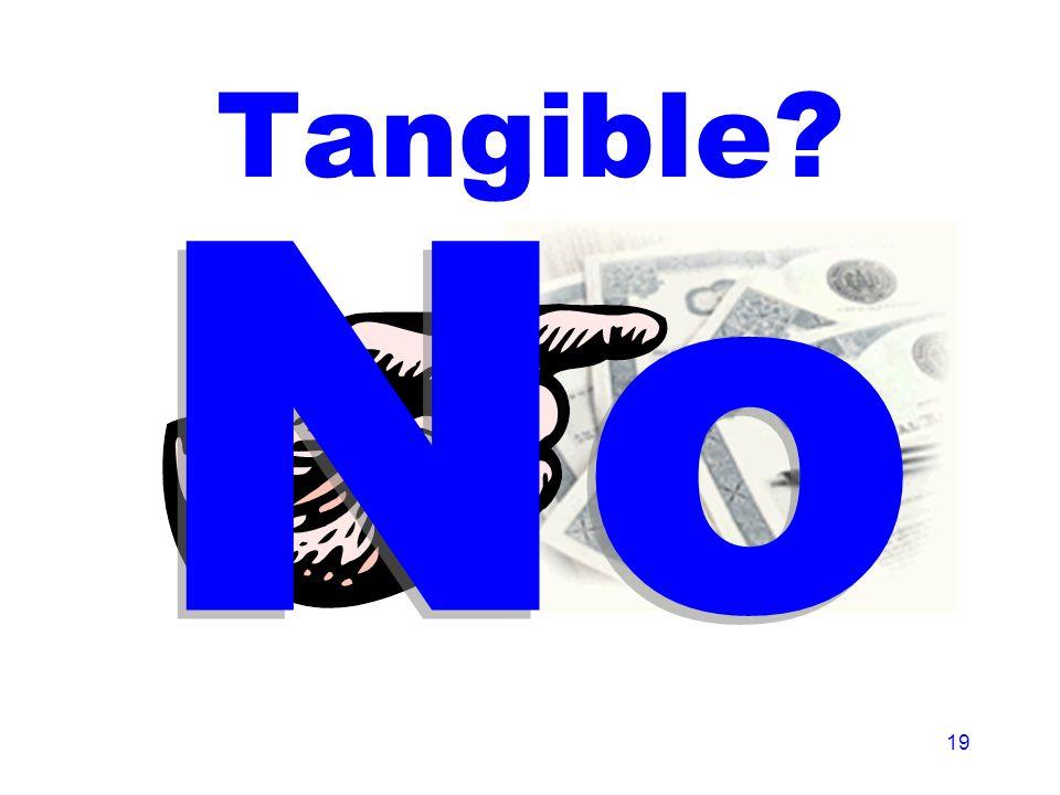 19 Tangible No