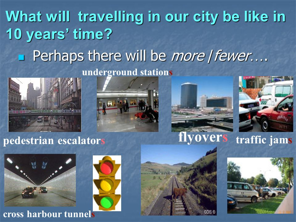 What will travelling in our city be like in 10 years time.