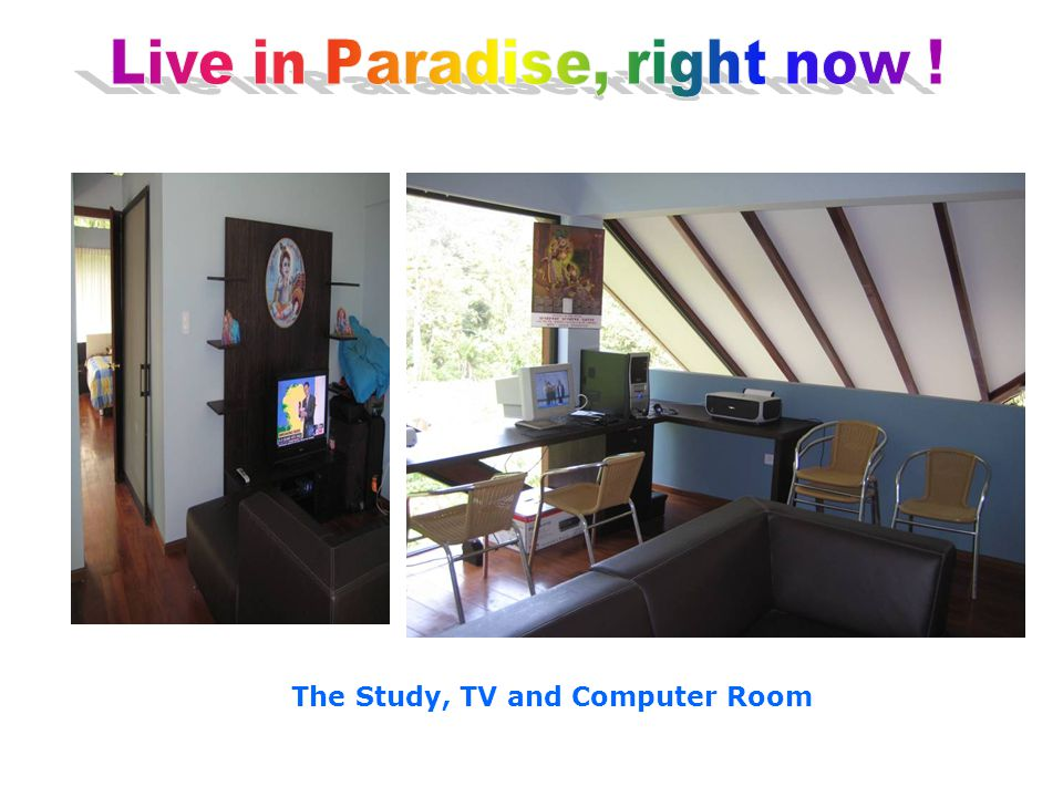 The Study, TV and Computer Room