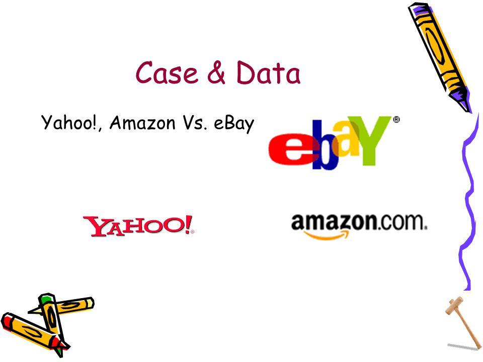 Case & Data Yahoo!, Amazon Vs. eBay