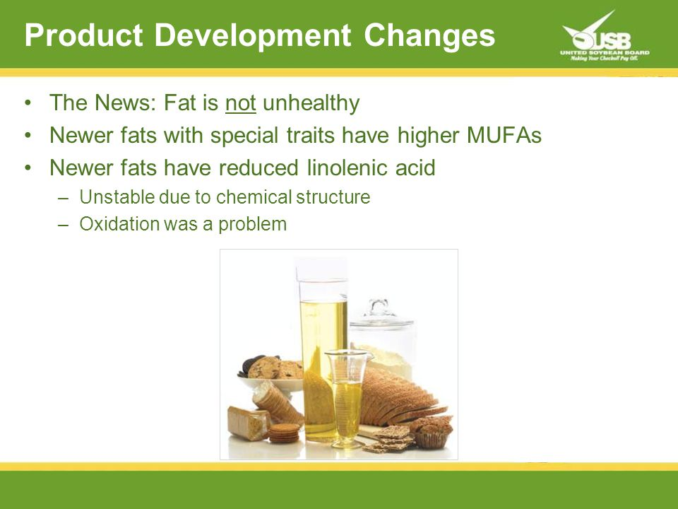 Monounsaturated FatPolyunsaturated Fat Beneficial Fats in New Soybeans